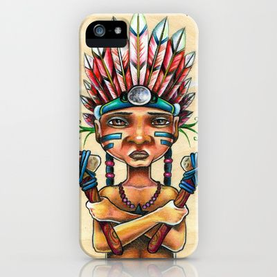 Chief Starhunter iPhone & iPod Case by Bryan Collins - $35.00