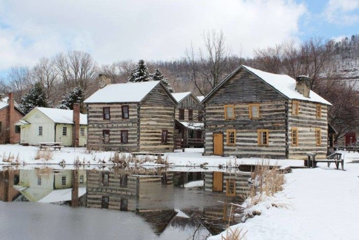 1. Old Bedford Village, Bedford, 10 places in PA. that are like stepping back in time.