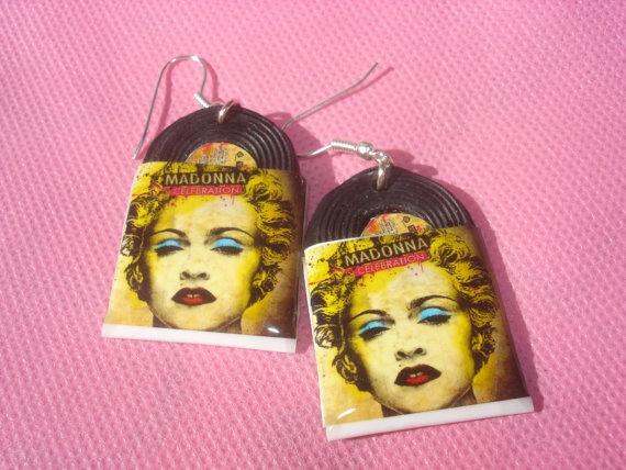 madonna celebration vinyl record miniature by andreachalari, $12.00