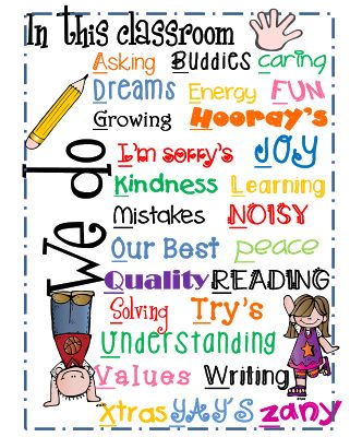"Classroom ""We Do"" mini poster"
