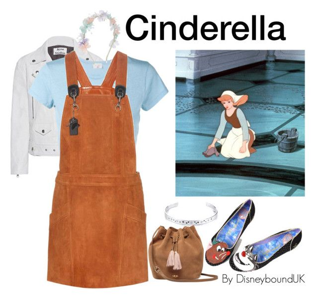 Cinderella by disneybounduk on Polyvore featuring polyvore fashion style Coach RE/DONE Acne Studios Irregular Choice UGG Disney Monsoon clothing disney disneybound