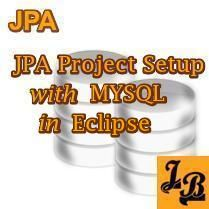Tutorial explains how to setup a JPA Project in Eclipse with a Data Connection for MySQL.