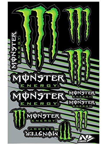 15 best monster energy stickers images on pinterest. Black Bedroom Furniture Sets. Home Design Ideas