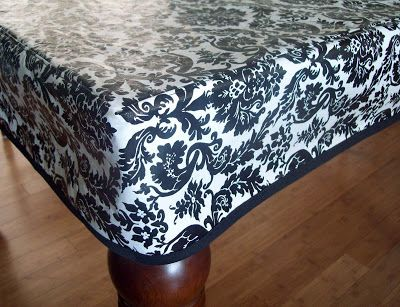 Running With Scissors: Fitted Simple Tablecloth. Fitted TableclothsVinyl  TableclothRound ...