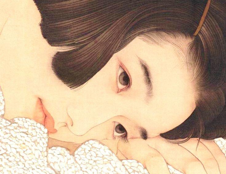 イメージ3 - 日中画家が描くまなざしの美・・・おおた慶文vs何家英(ヘイジャユン) の画像 - 気まぐれ美術館 - Yahoo!ブログ