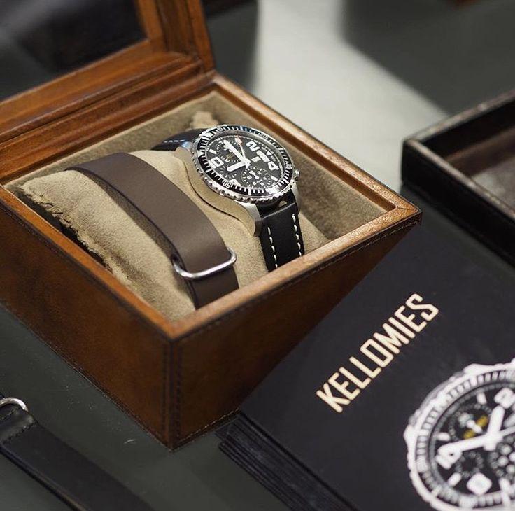 @kiviaika  Balmuir Edward watch box