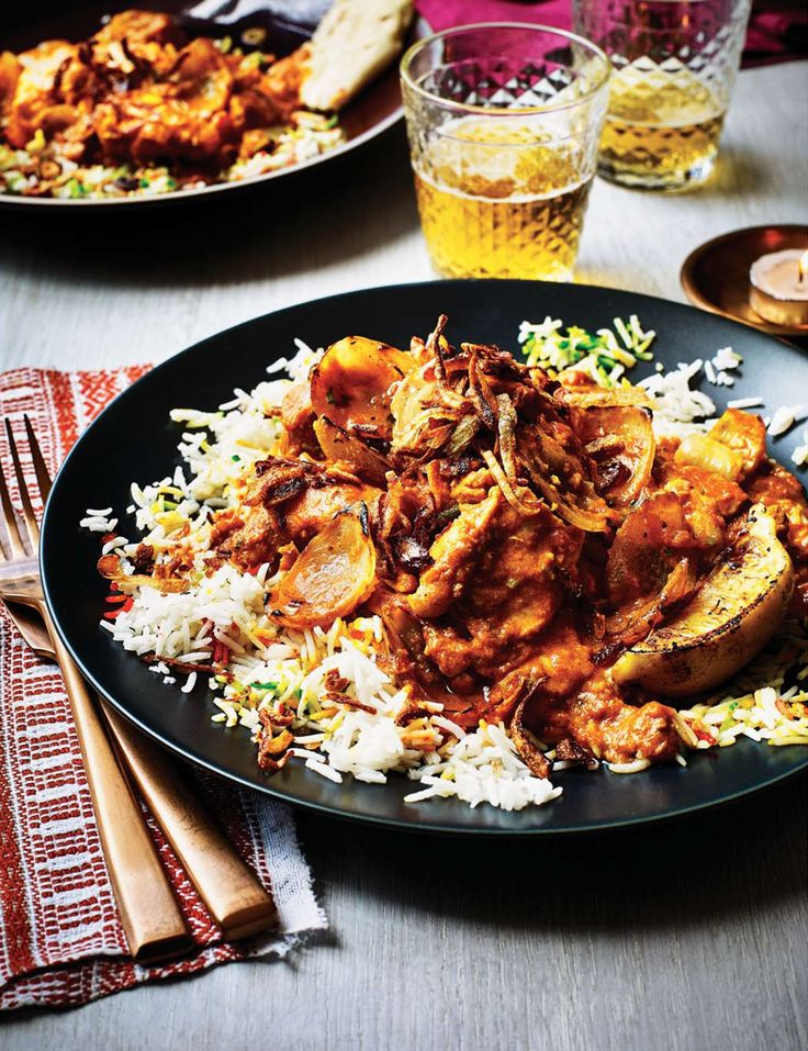 Chicken dopiaza recipe from The Curry Guy by Dan Toombs | Cooked