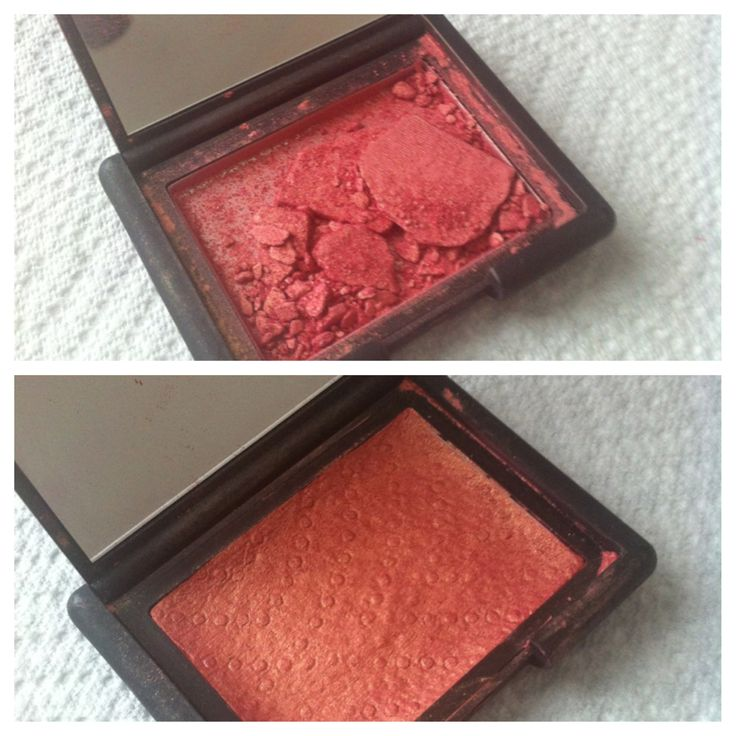 How to Fix a Shattered Blush