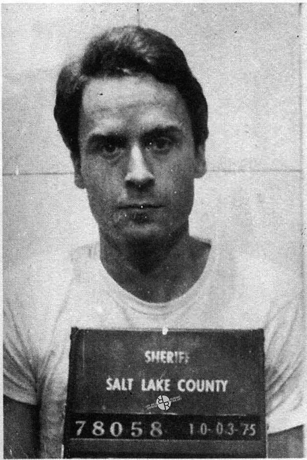 Ted bundy raped and strangled many woman before he was finally captured by police