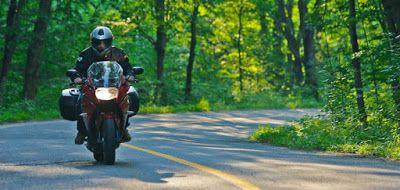 Tips untuk melakukan touring motor seorang diri