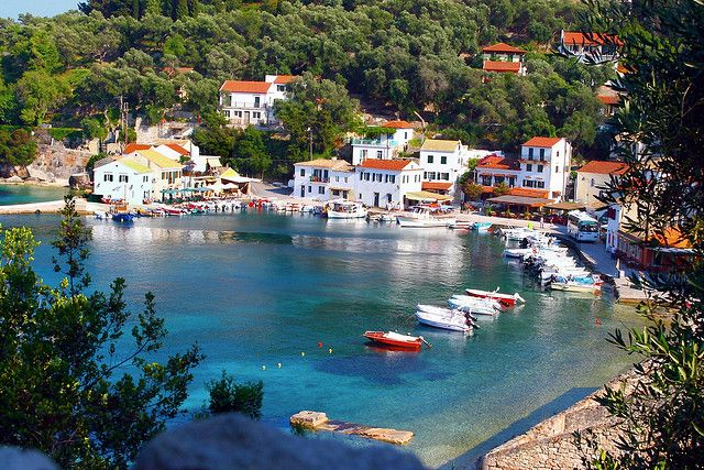 Encore! Life, | ♕ |  Cove of Loggos - Paxos island, Greece  | by...