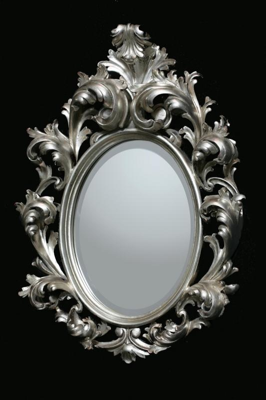 51 best images about stylish mirrors on pinterest louis for Baroque oval mirror
