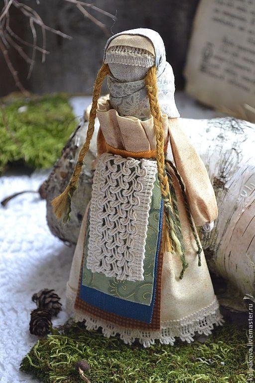 """Купить кукла-оберег Веснянка""""Лесная"""". - кукла ручной работы, веснянка, весна, весеннее настроение"""