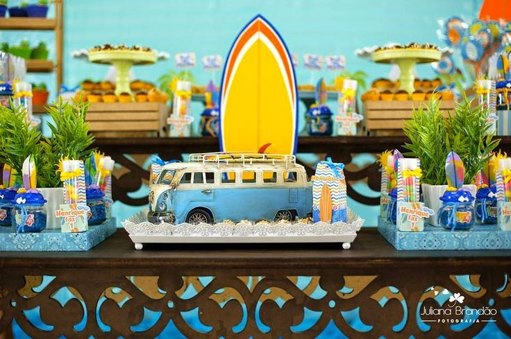 Encontrando Ideias: Festa Surf!!