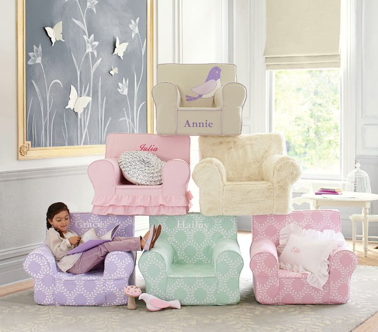 Their favorite chair in the house - fun prints put your child's personality into our Anywhere Chair.