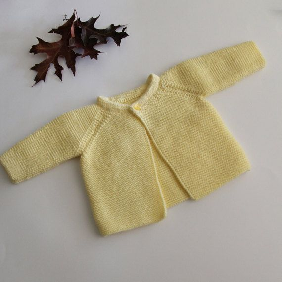 Baby girl coat hand-knitted baby coat baby girl by ProjectKnitting