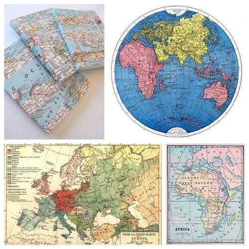 Free Vintage Map Printables
