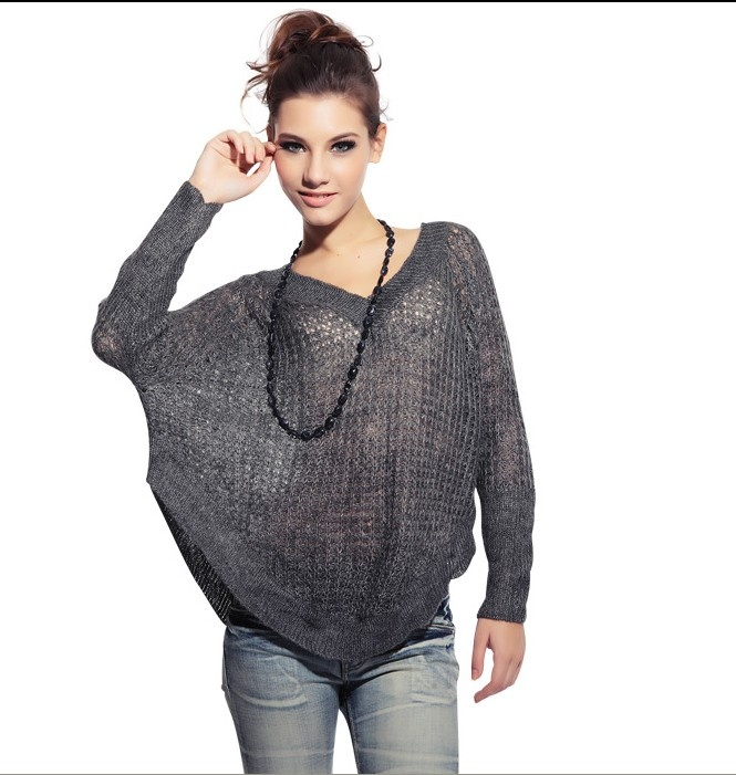 jeans consumati, maglia di lana a punta