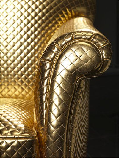 Love the glamour in the quilted patent faux leather line new from Carlucci di Chivasso - Couture