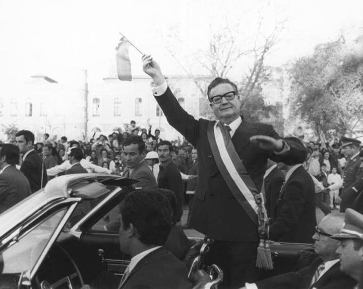 4 de noviembre de 1970, asume como presidente; Salvador Allende.