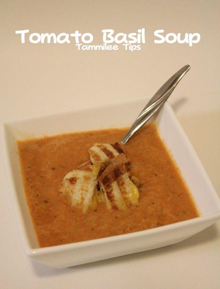 Tomato Basil Soup Recipe with Silk Soy Milk!