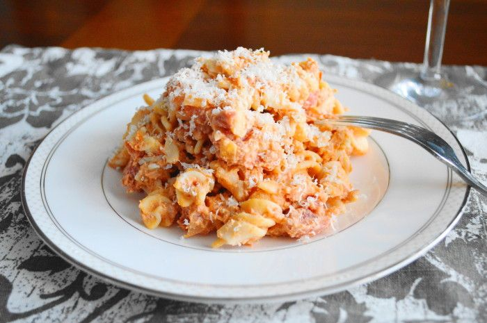 Homemade Vodka Sauce with Crabmeat