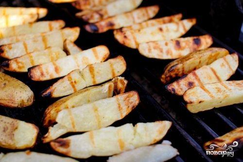 Картошка на гриле - пошаговый кулинарный рецепт с фото на Повар.ру