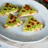 Πίτα με αβοκάντο σαν χριστουγεννιάτικο δεντράκι