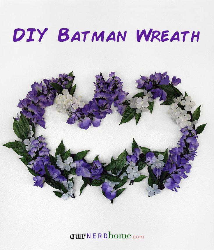112 best our nerd home images on pinterest geek decor diy batman wreath our nerd home solutioingenieria Gallery