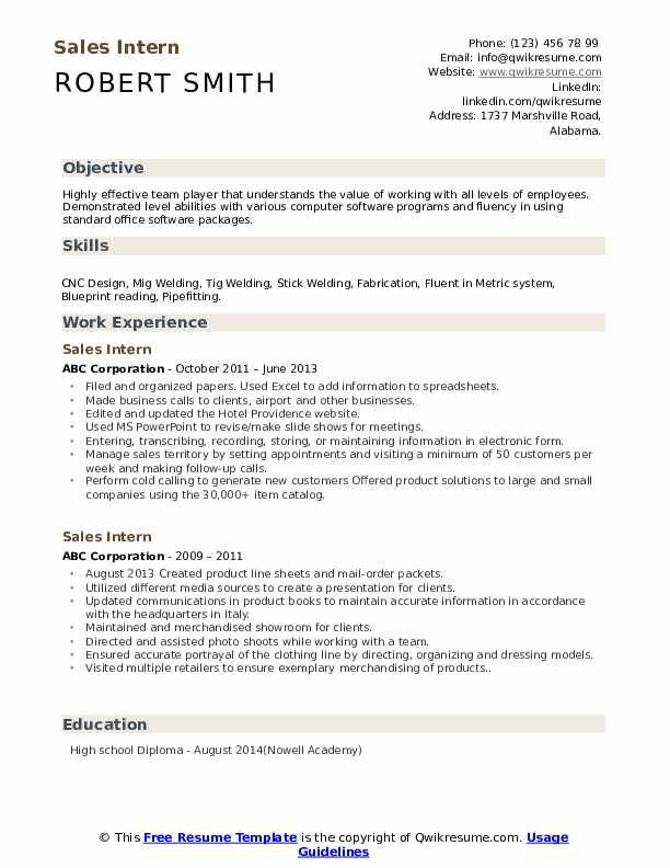 Sales Intern Resume Samples Administrative Assistant Resume Retail Resume Job Resume Examples