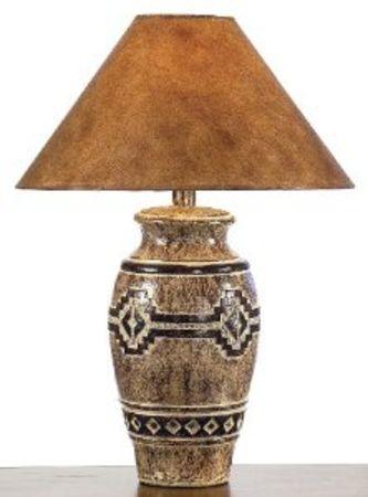 Southwestern Petroglyph Table Lamp