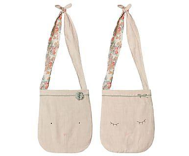Школьная сумка со спящим кроликом - хлопок, 75х25х2 см