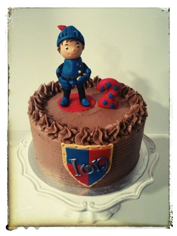 Mike The Knight Cake Images