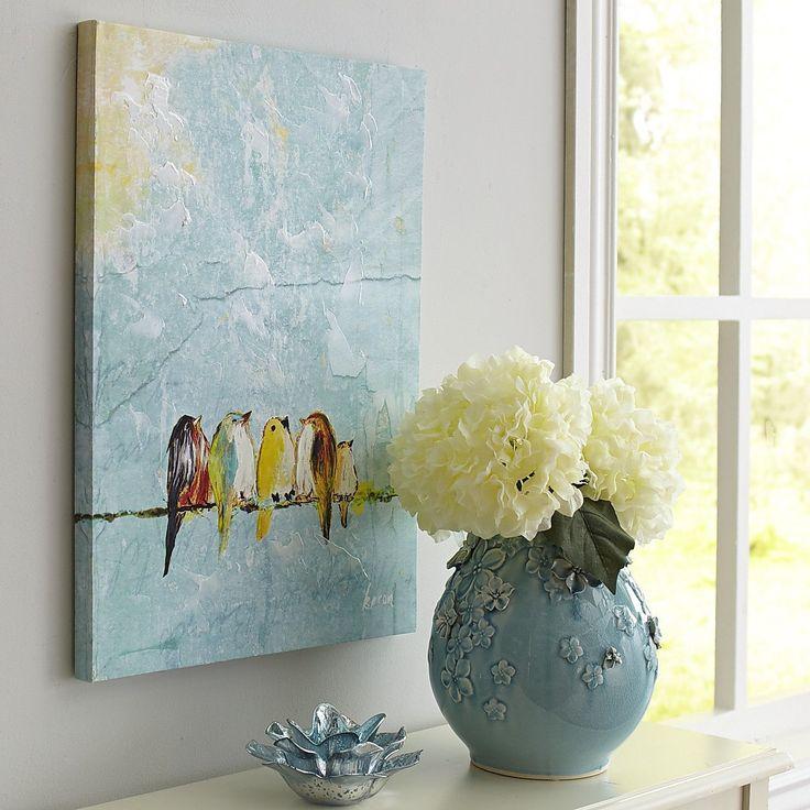 Pier 31: Family Of Birds Art