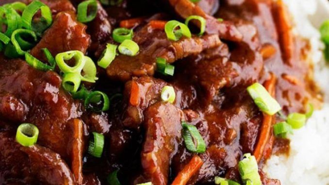SLOW COOKER MONGOLIAN BEEF – Healthy To Fit