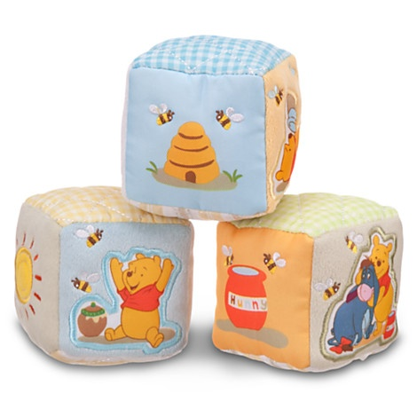 Winnie The Pooh Soft Blocks For Baby