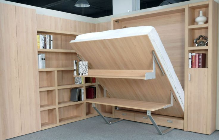 Murphy Bed Desk Combo Plans - Google Search                                                                                                                                                      More