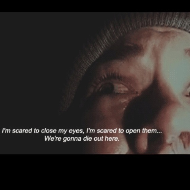 Horror Movie Quotes: 13 Best The Blair Witch Project! Images On Pinterest