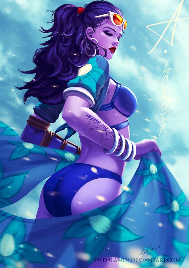 Summer-watch: Queenmaker by TOYDREAMER.deviantart.com on @DeviantArt - More at https://pinterest.com/supergirlsart #widowmaker #overwatch #summer #games #fanart