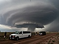 """Mothership Cloud"" Supercell Tornado In Texas. As a former Amarilloan, I do miss seeing these storms from miles away."