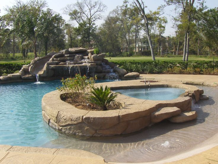 Houston Spa Gallery - Richards Total Backyard Solutions ...