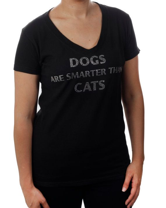 TShirt Dogs Are Smarter Than Cats CLEARANCE by BlingnPrintStreet