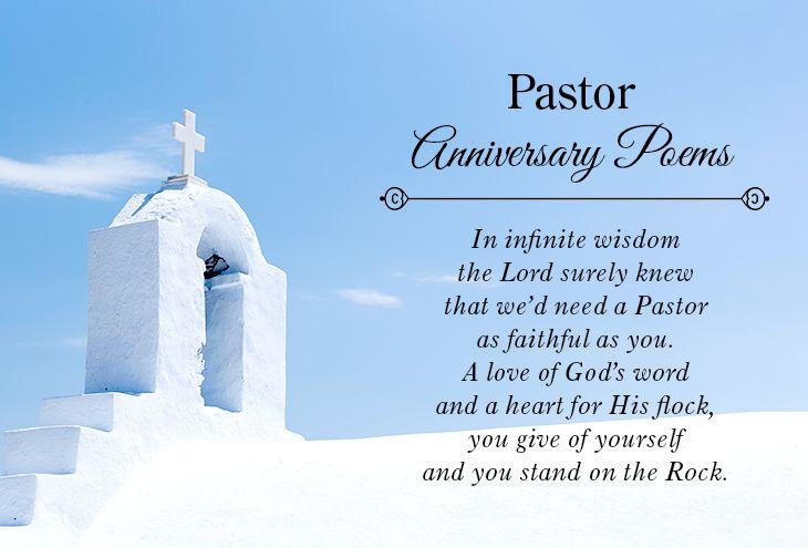 Pastor Anniversary Poems Anniversary Poems Pastor