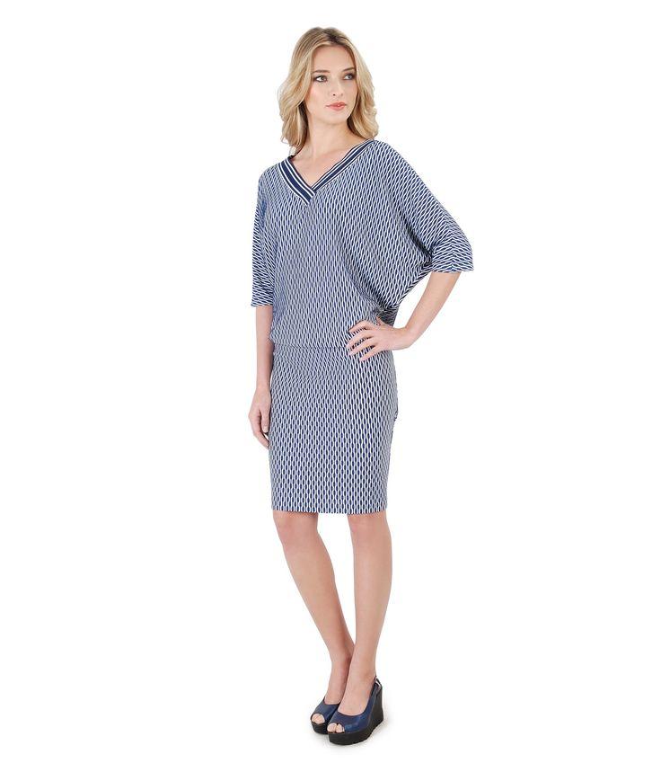 Everyday dress, EDNA dress. Comfortable, nice, easy! SPRING 17 | YOKKO #dress #casual #blue #nice #spring17 #daytime #women #fashion #style #beauty #yokko