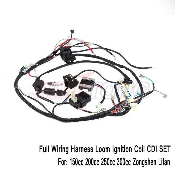 CDI Wiring Harness Loom Ignition Solenoid Coil Rectifier