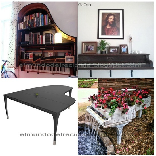 Upcycle furniture oh rubbish furniture projects upcycled upcycled piano ideas flea - Upcycling ideas for furniture ...