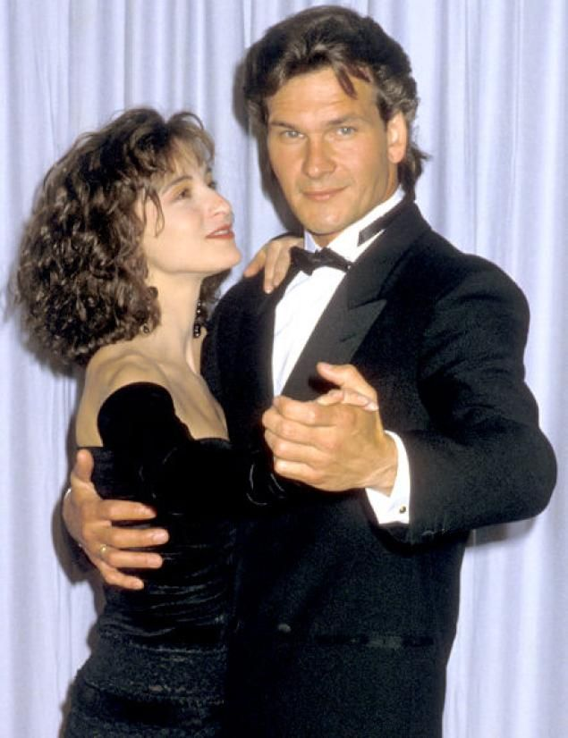 Here, he's shown with costar Jennifer Grey at the Academy Awards in 1988, following the release of the surprise hit that cemented his status as a sex symbol and romantic lead.