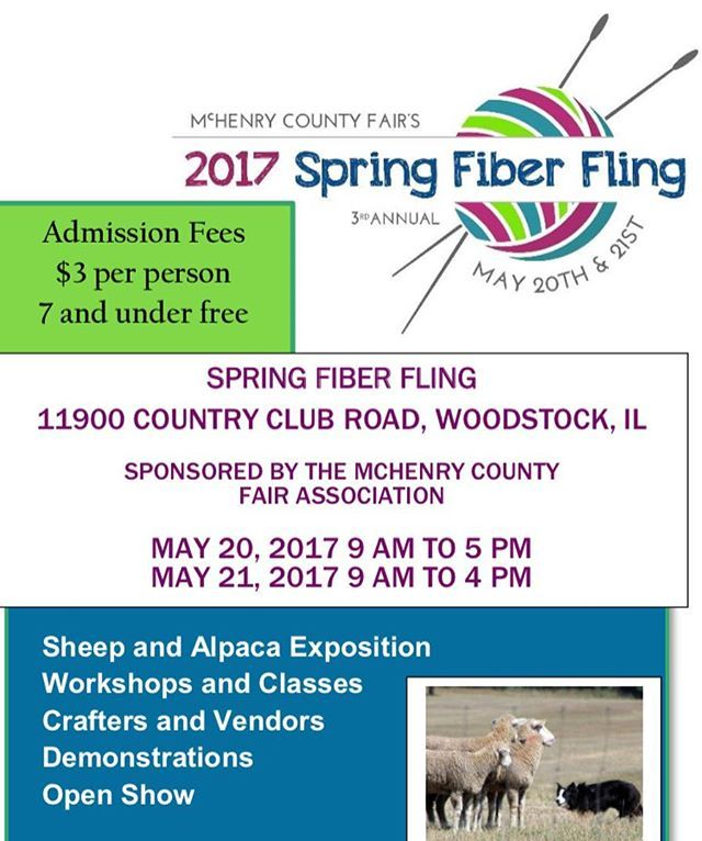 Knit Girl Yarn will be at the Spring Fiber Fling at the McHenry County Fair Grounds!! There will be a bunch of stuff going on so come check it out!! ➿➿➿ #knitgirlyarn #handdyedyarn #indiedyer #indiedyedyarn #indiedyersofinstagram #etsy #etsyshop #etsyseller #fiberfair #springfiberfling2017 #mchenrycountyfairgrounds #chicagomakers #makersmovement #knittersofinstagram #knitting #crocheting #yarnlove #instaknit