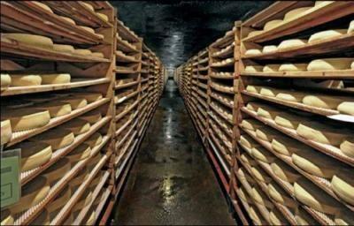 Cave d'affinage #SaintNectaire