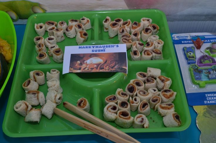 Monsters Inc Birthday Party Food Ideas